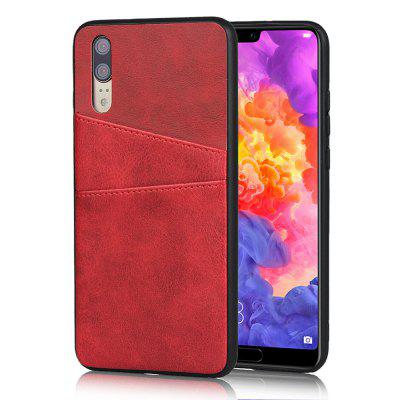 Leather Card Slot Phone Case for Huawei P20