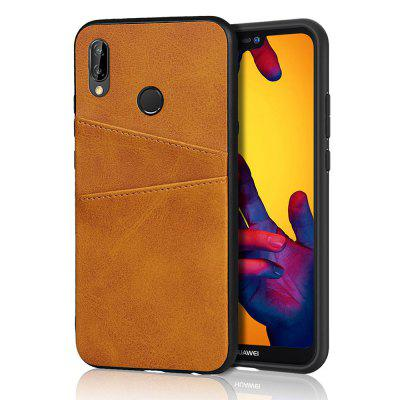 Leather Card Slot Phone Case for Huawei P20 Lite