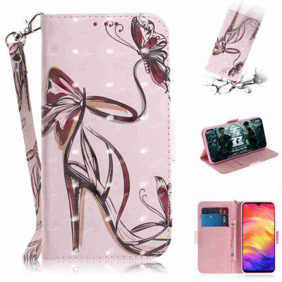 Butterfly High Root Shoes 3D Painted Phone Case for Xiaomi Redmi NOTE 7S/ NOTE 7