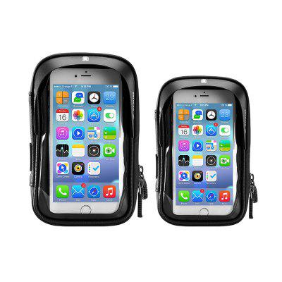 Bike Waterproof Phone Case Touch Screen Handlebar Support  Package