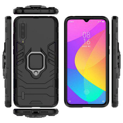 Armor PC Rim Finger Ring Holder Phone Case for Xiaomi CC9