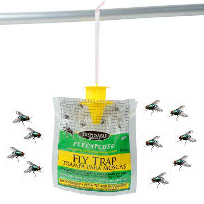 Home Garden Outdoor Disposable Hanging Fly Trap