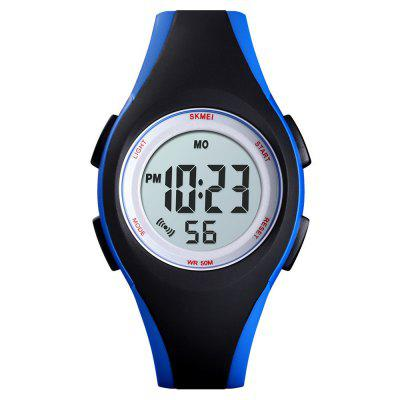 Fashion Children Clock Kids Watch PU Sport Digital Watch Color