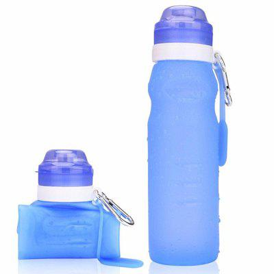 Outdoor Sports Travel Creative Foldable Silicone  Water Bottle
