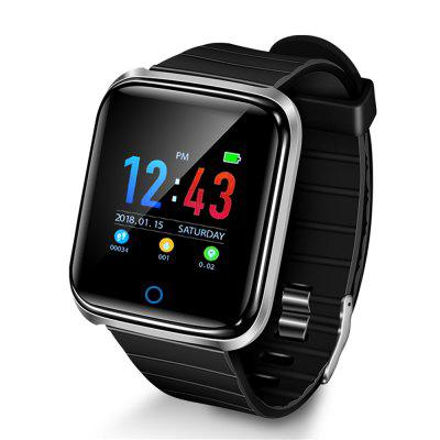 BY26 Touch Color Screen Sports Ring Smart Watch