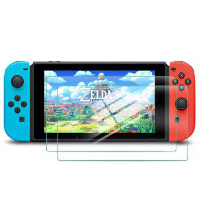 Pellicola in Vetro Temperato per Nintendo Switch Lite 2Pcs
