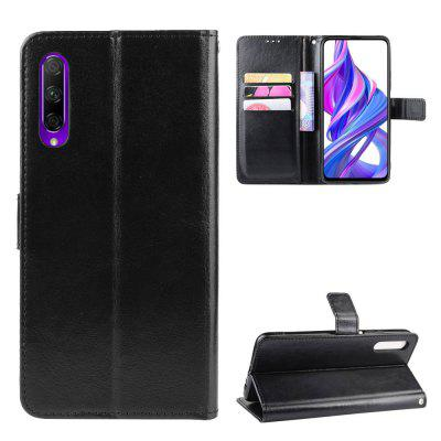 Crazy Horse PU Leather Phone Case For Huawei Honor 9X / 9X Pro