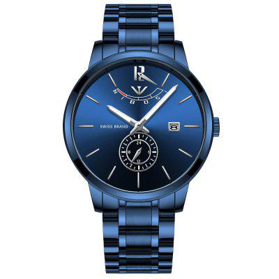 NIBOSI 2318 Mens Watch Luxo Esporte