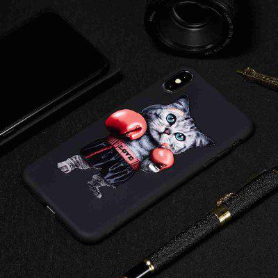 Coque en TPU Painted Phone pour iPhone XS MAX