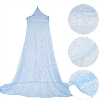 Princess Mosquito Net Lace Dome Round Hoop Bed Canopy for 1.5 - 1.8M Bed