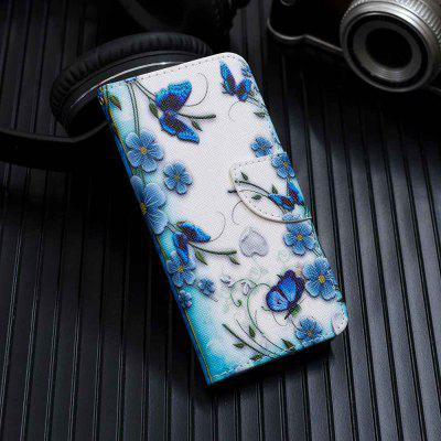Painted PU Phone Case for Samsung Galaxy A60 / M40