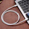 2M High Speed USB 3.1 Type-C Male to Male PD  Fast Charging Cable - WHITE
