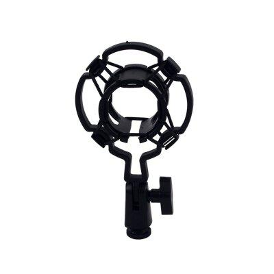 Black Universal Microphone Shock Mount Holder Clip