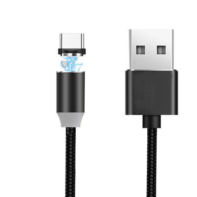 Duurzame draagbare Mini C LED-verlichting Magnetische USB-kabel Snelle oplader voor Android
