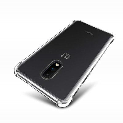 Transparent TPU Phone Case for OnePlus 7