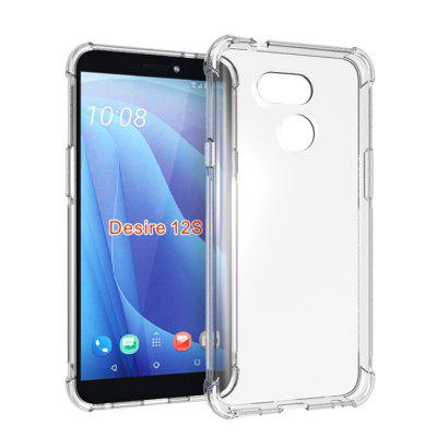 Transparent TPU Phone Case for HTC Desire 12S