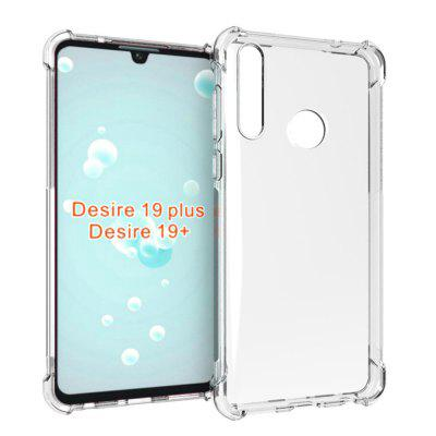 Transparent TPU Phone Case for HTC Desire 19+/19 Plus