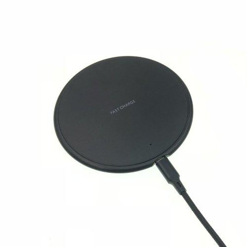 10W Qi Ultra-Thin Fast Wireless Charger Pad for iPhone X/XS Max/XR/X/8 Plus/8