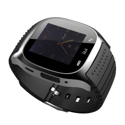 Bluetooth Smart Watch met kiesherinnering Stappenteller SMS voor iOS / Android