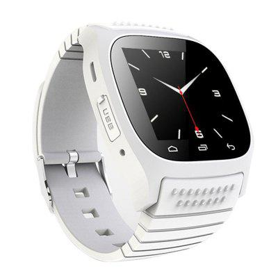 Bluetooth Smart Watch with Dialing Reminder Pedometer SMS for iOS / Android