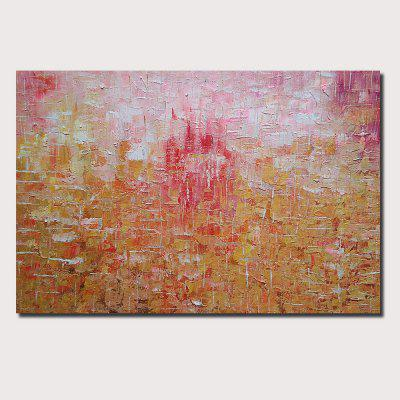QINGYAZI HQ064 Hand-Painted Abstract Oil Painting Home Wall Art Painting