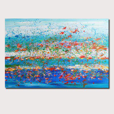 QINGYAZI HQ076 Hand-Painted Abstract Oil Painting Home Wall Art Painting