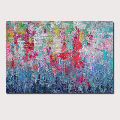 QINGYAZI HQ089 Hand-Painted Abstract Oil Painting Home Wall Art Painting