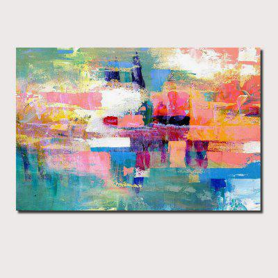 QINGYAZI HQ012 Hand-Painted Abstract Oil Painting Home Wall Art Painting