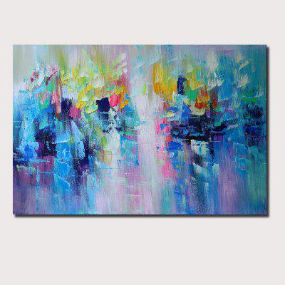 QINGYAZI HQ009 Hand-Painted Abstract Oil Painting Home Wall Art Painting