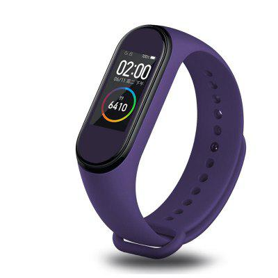 Colorful Pattern Sticker Watch Screen Protector for Xiaomi Miband 4 1PC