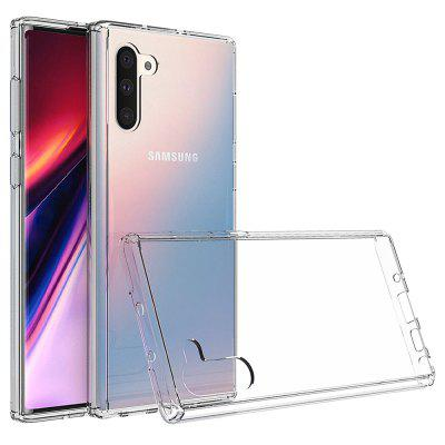 Acrylic Clear Full Cover Drop-Proof Phone Case for Samsung Note 10