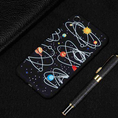 TPU Black Bottom Painted Phone Case for  iPhone XR
