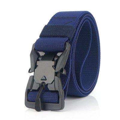 New Quick Release Magnetic Buckle Safety Outer Belt Quick Dry Pure Nylon Belt