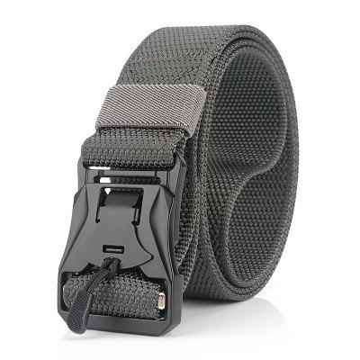 Nylon Belt Zinc Alloy Magnetic Buckle Lightweight Versatile Belt