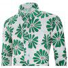Men's  Autumn and Winter Casual Fashion Funny Print Long-Sleeved Shirt - MULTI-K