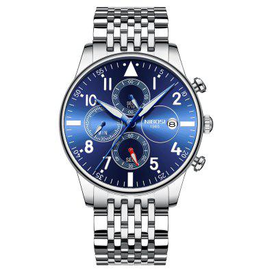 NIBOSI 2368 Men's Watches Military Luxury Brand Quartz  Watch Mens