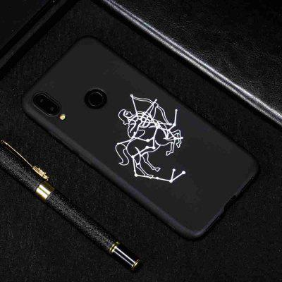 B TPU Black Bottom Painted Phone Case for Xiaomi Redmi Note7 / NOTE7 PRO
