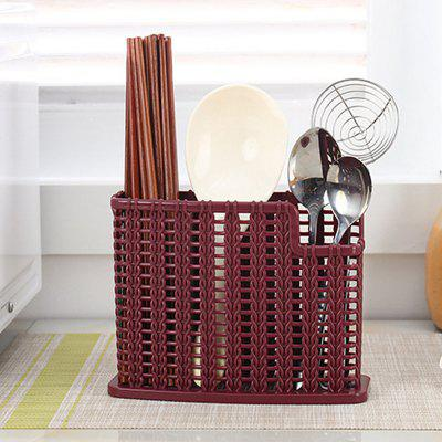 Multifunctional Plastic Drainage Chopstick Shelf PP Hollow for Kitchen Home
