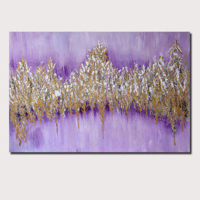 QINGYAZI HQ029 Hand-Painted Abstract Oil Painting Home Wall Art Painting