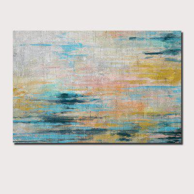 QINGYAZI HQ031 Hand-Painted Abstract Oil Painting Home Wall Art Painting
