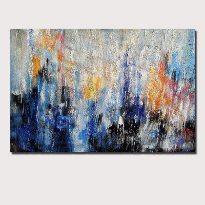 QINGYAZI HQ040 Hand-Painted Abstract Oil Painting Home Wall Art Painting