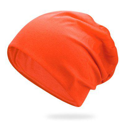 Thin Section Cap Breathable Turban Cap + Elastic Fit for 54-58CM