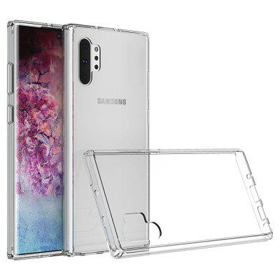 Acrylic Clear Full Cover Drop-Proof Phone Case for Samsung Note 10 Plus