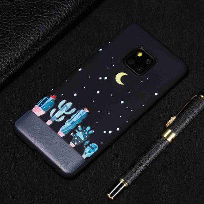 TPU Black Bottom Painted Phone Case for Huawei MATE 20 PRO