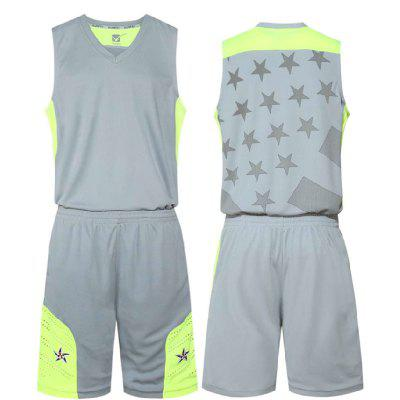 Children and Men Basketball Suits with Comfortable and Breathable Jerseys