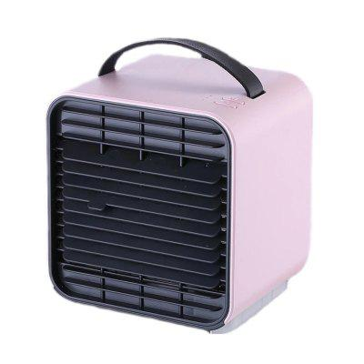 New Portable 2000MAH Lithium Battery Desktop Air Cooler Fan Negative Ion