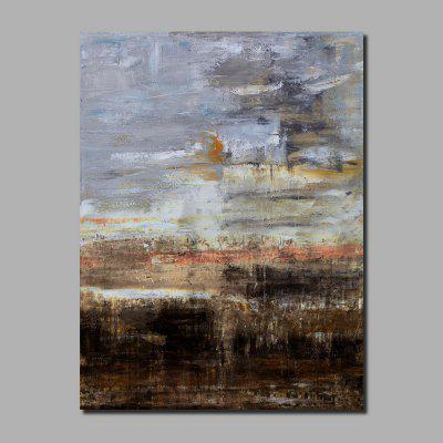 QINGYAZI HQ004 Hand-Painted Abstract Oil Painting Home Wall Art Painting
