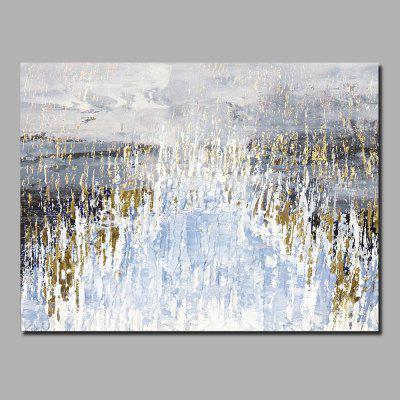 QINGYAZI HQ005 Hand-Painted Abstract Oil Painting Home Wall Art Painting