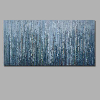 QINGYAZI HQ008 Hand-Painted Abstract Oil Painting Home Wall Art Painting
