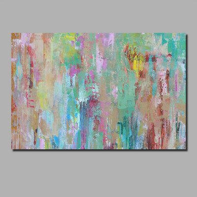 QINGYAZI HQ010 Hand-Painted Abstract Oil Painting Home Wall Art Painting